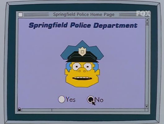 simpson homer mister x policia pagina