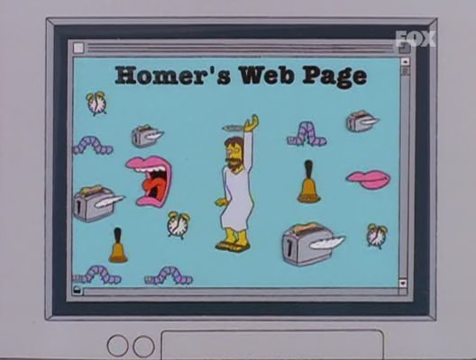 simpson homer mister x web page