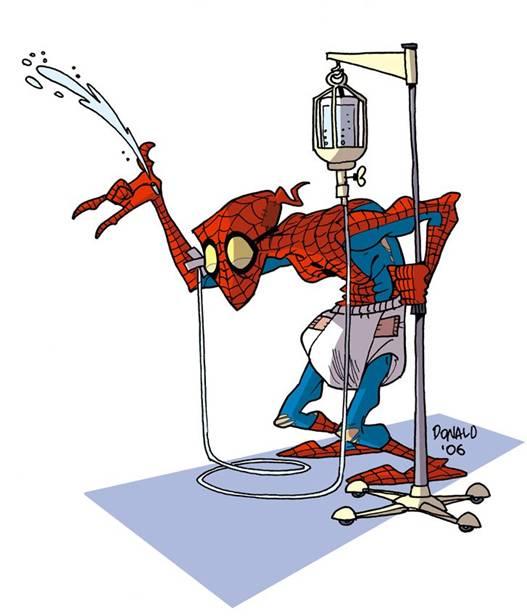 spiderman viejo
