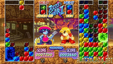 super puzzle street fighter