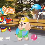 Juego de vestir al perro Cocker Spaniel