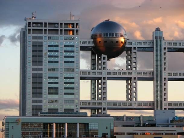 Fuji television edficifio Tokyo Japon