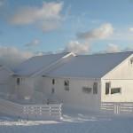 casa groenlandia islandia nevada nieve