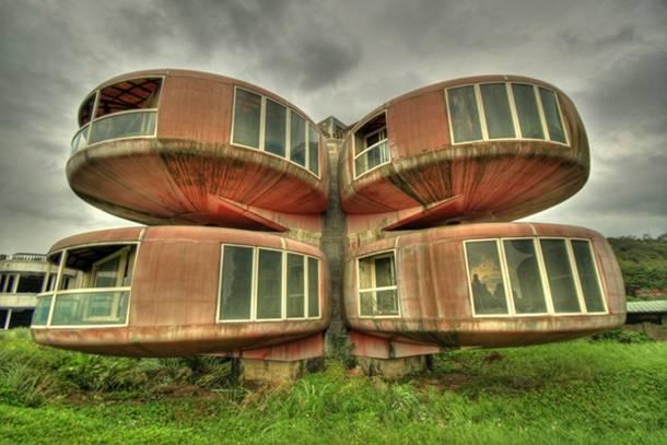casa ovni Sanjhih Taiwan
