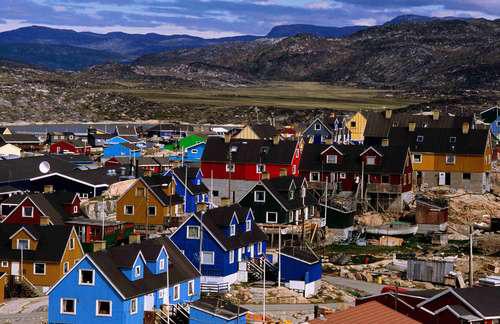 casas islandia coloridas color