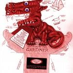 dragon 3d rojo