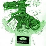 dragon 3d verde