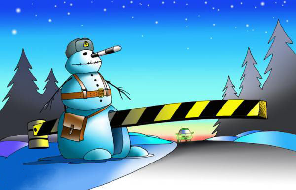 imagenes-graciosas-navidad-navidenas-muneco-aduana