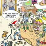 Imágenes de humor para Navidad
