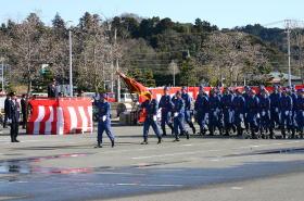 japon navidad ano nuevo Shobo Dezome-shiki desfile