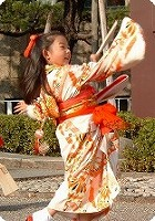 japon navidad ano nuevo hagoita Hanetsuki jugando