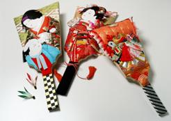 japon navidad ano nuevo hagoita Hanetsuki palas pelota