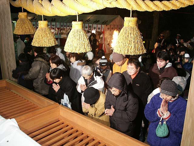 japon navidad ano nuevo hatsumode rezo