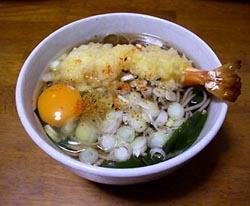japon navidad ano toshiko soba sopa fideos huevo