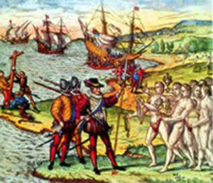 jauja viaje colon conquistadores
