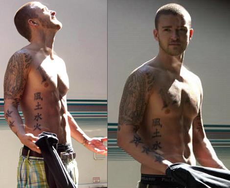 Juego para vestir a Justin Timberlake