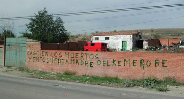muro cago muertos