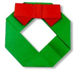 origami-navidad-navideno-christmas-xmas-acebo-corona-wreath