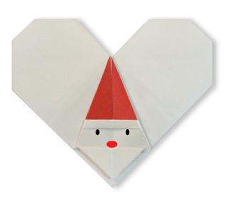 origami-navidad-navideno-christmas-xmas-corazon-santa-claus-santaheart