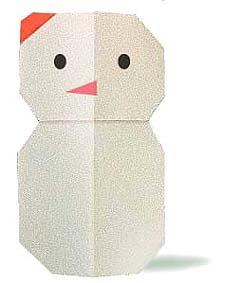 origami-navidad-navideno-christmas-xmas-hombre-nieve-snowman