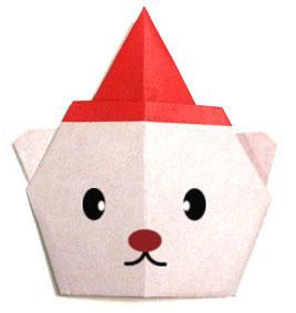 origami-navidad-navideno-christmas-xmas-oso-santa-claus-bearsanta