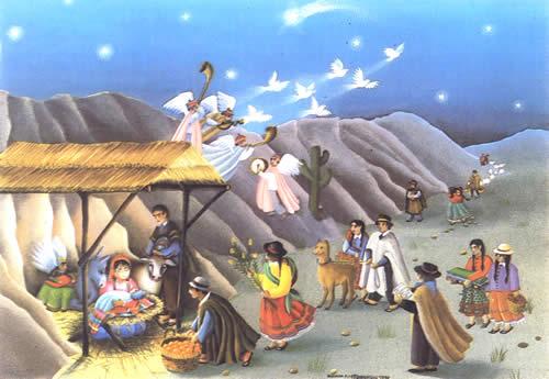 postales navidad belen