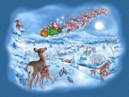 postales navidad navidenas ilustraciones 02