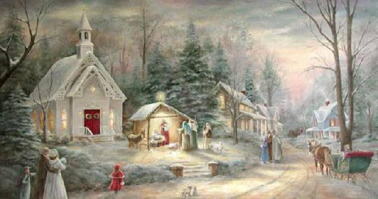 postales navidad navidenas ilustraciones 03
