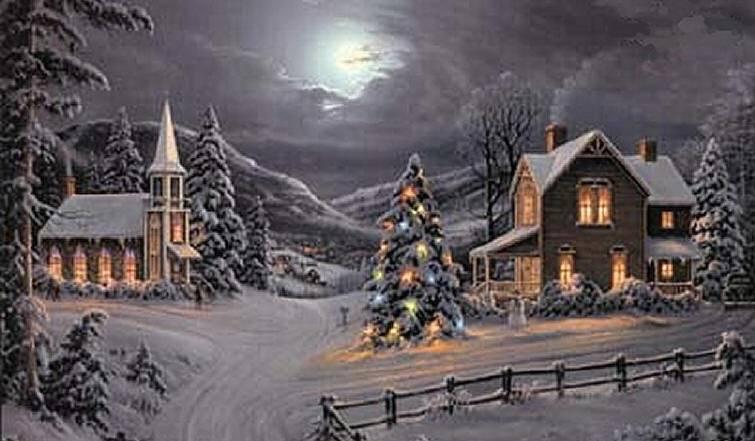 postales navidad navidenas ilustraciones 04