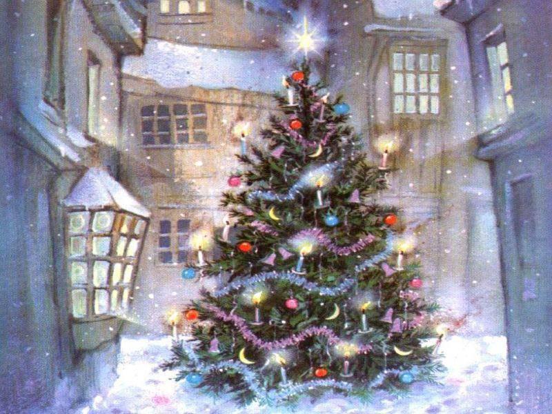 postales navidad navidenas ilustraciones 07