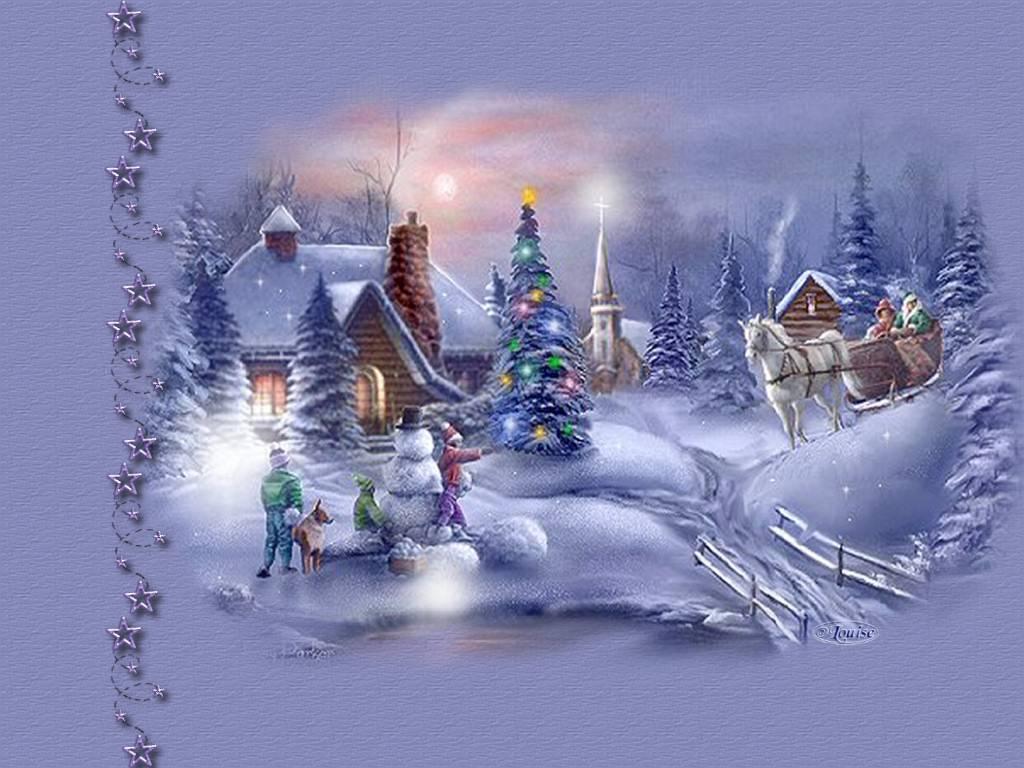postales navidad navidenas ilustraciones 08