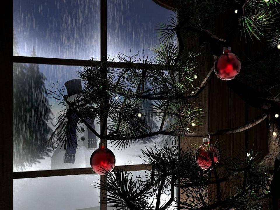 postales navidad navidenas ilustraciones 09