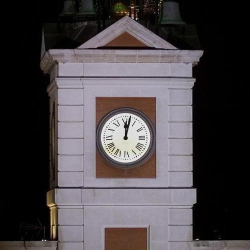 reloj puerta sol correos