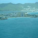 El aeropuerto de la isla San Martín