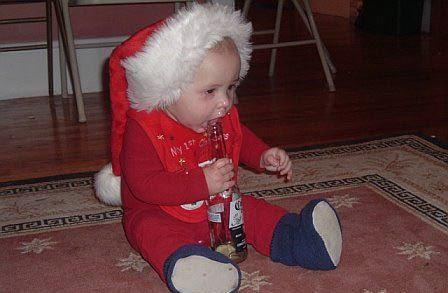santa claus papa noel borracho alcohol 3