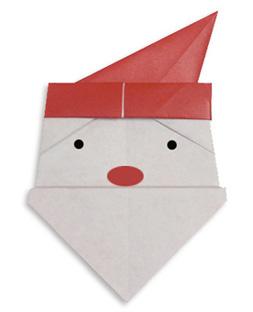 santa-origami