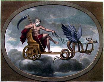 saturno carro chariot