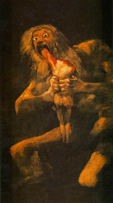 saturno cronos mitologia griega