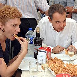 sonsoles_zapatero_comiendo