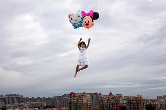 trucos fotos ninos balones