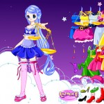 Vestir a la chica Zodiaco: Libra