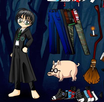 Ropa y trajes para Harry Potter