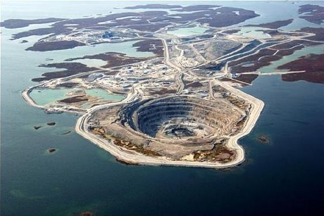 Diavik Mine Canada