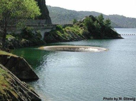 Glory Hole Monticello Dam California