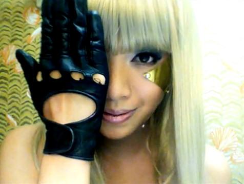 Michelle Phan Lady Gaga Poker Face imitadora