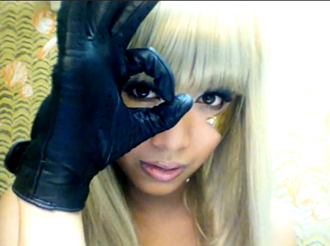 Michelle Phan Lady Gaga Poker Face maquillaje