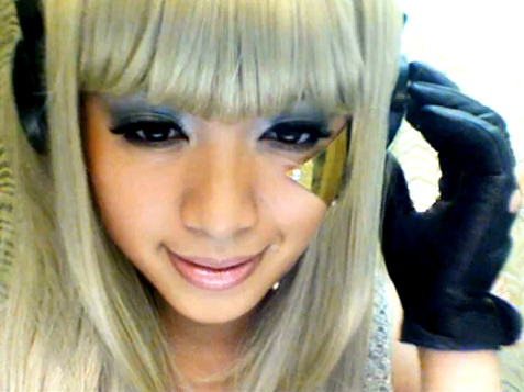 Michelle Phan Lady Gaga Poker Face video
