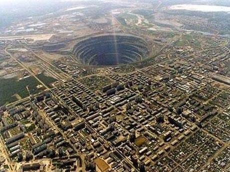 Mirny Diamond Mine Siberia