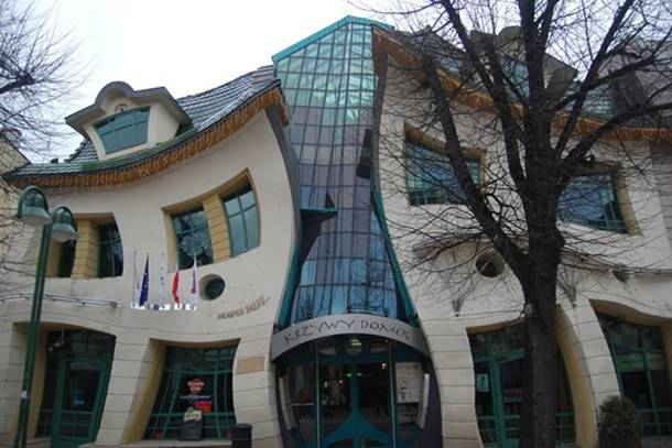 The Crooked House Sopot Poland