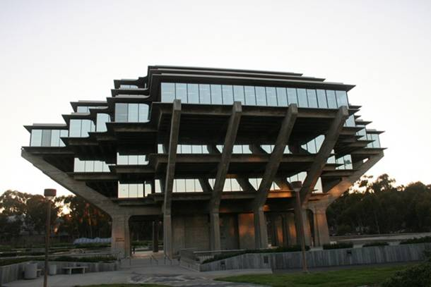 UCSD Geisel Library San Diego California United States
